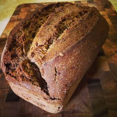 Nothing beats the aroma and flavour of a freshly baked loaf of traditional pumpernickel bread! It's always nice to change it up and have a tasty treat.