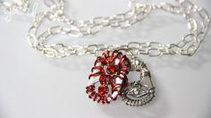 YouTube Tutorial: https://youtu.be/4ccjlMptFAU #DIY #Pop #Tab #Accessories #Jewelry #Bracelet #Charm #Necklace #Ring #Flower #SodaTab #PopTab #CanTab #SodaCan #Craft