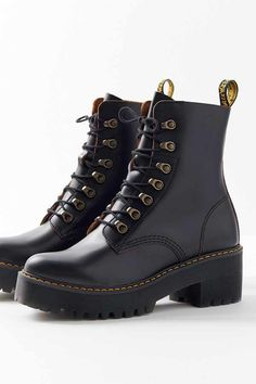 6eb4fb0d4eae36 Slide View: 4: Dr. Martens Leona Vintage Smooth Boot Gevecht Laars, Mode