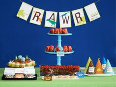 Dinosaur Rawr Party