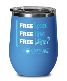 Free Space, Free Time, Free Wine? funny COVID wine mug Wine Glass Sizes, Fight The Power, Free Space, Conversation Starters, Family Gifts, Custom Mugs, Free Time, Cold Drinks, Gift Ideas