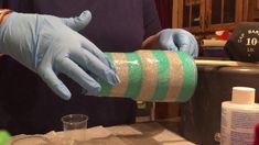 Putting epoxy on gli