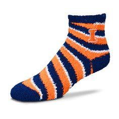 15379b85605 Illinois Fighting Illini Pro Stripe Sleep Soft Socks - Team Color