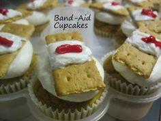 Band-Aid Cupcakes - Good Samaritan Lesson Snack