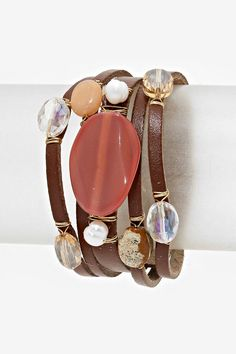 Collin Bracelet in Agate