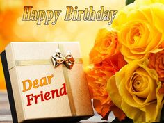 Poetry and Worldwide Wishes: Happy Birthday Wishes for Best Friend with Flowers