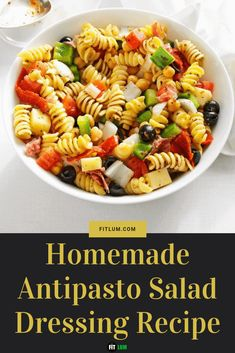 Same goes for a fresh salad. It also requires an equally delicious and fresh dressing on top. It contains low carb and high in proteins. Antipasto Recipes, Antipasto Salad, Meat Salad, Salad Dressing Recipes, Salad Recipes, Homemade Blueberry Muffins, Different Salads, Healthy Food, Healthy Recipes