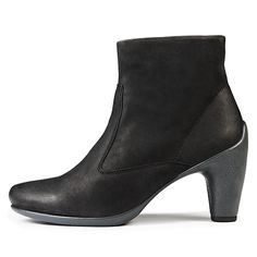ECCO SCULPTURED 65 - Mid Cut Zip Boot - S M I L E