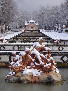 Royal Palace of La Granja de San Ildefonso. Winter gardens  ©Jesús Tramullas