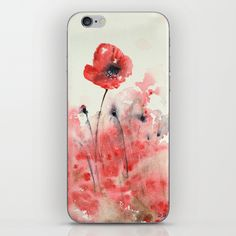Let's dance poppy iPhone & iPod Skin
