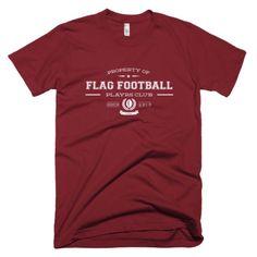 The PLAYRS Club Men's Flag Football T-Shirt – Light