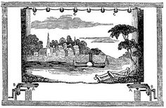 """1. An image of the moving panorama. Panorama was a word created by Barker fusing together ancient Greek words creating the meaning of """"all sight"""", """"to see all"""", or """"all sight"""". Panoramas were used for entertainment purposes as the background in plays and to create the illusion of travel such as boating down the Mississippi or being at a variety of sight-seeing locations."""