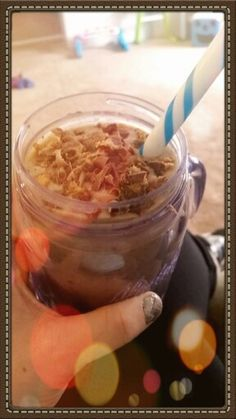 www.beachbodycoach.com/nikkib03   Reese's Peanut Butter Cup Shake!
