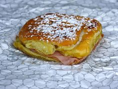 The Mallorca ($3.75), a sweet and savory combination, sort of tastes like the Puerto Rican answer to the monte cristo. This ham and cheese sandwich is built on mallorca bread, which is slightly sweet, yet tender and light.
