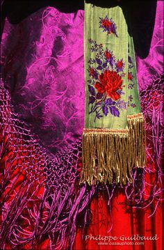 Détail de costume ossalois. Folk Costume, Costumes, Pyrenees, Traditional Dresses, Europe, France, Popular, Inspiration, Clothes