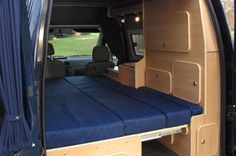 Ford Ford Transit Connect Camper Conversion – Expedition Portal – World Bayers Ford Transit Connect Camper, Ford Transit Camper, Ford Transit Conversion, Camper Conversion, Transitional Living Rooms, Transitional Decor, Transitional Kitchen, Vw Bus, Do It Yourself Camper