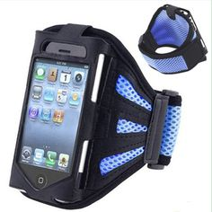 Mesh phone Sport Armband case for iphone 6 plus