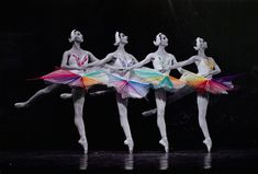 Chile-based mixed media artist Jose Romussi brings to life these vintage photographs of ballet dancers. Embroidering colorful thread on top of the costumes, the artist creates dazzling patterns making the subject look like she is pirouetting. Jose Romussi, Old Photos, Vintage Photos, Vintage Photographs, Illustration Art, Illustrations, Arte Pop, Mixed Media Artists, Embroidery Art