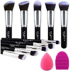 Top 10 brochas de maquillaje profesional archivos - Amazon tops 10 Essential Makeup Brushes, Best Makeup Brushes, Eyeshadow Brushes, Makeup Tools, Best Makeup Products, Beauty Products, Nude Eyeshadow, Eye Brushes, Makeup Artists