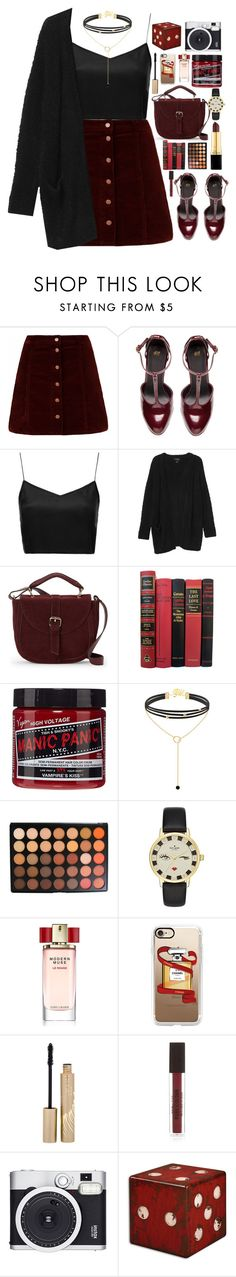"""""""Your Turn"""" by ellac9914 ❤ liked on Polyvore featuring H&M, Boutique, Monki, IMoshion, Manic Panic NYC, Morphe, Kate Spade, Estée Lauder, Casetify and Stila"""