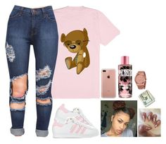 """Untitled #590"" by bosslanaia on Polyvore featuring adidas, Belkin and Michael Kors"