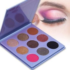 9 Color Eyeshadow Palette