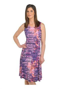 Tan Jay:  Microfine Jersey Scoop Neck Dress