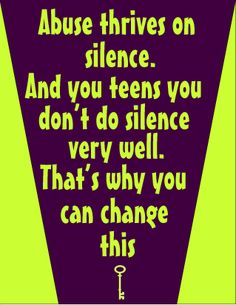 Quotes About Violence Monthly Domestic Violence Awareness 061512  Teen Dating .