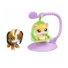 Littlest Pet Shop Pet Pairs: Kitten & dog!