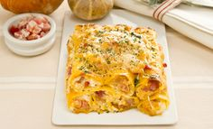 Cannelloni di zucca e pancetta
