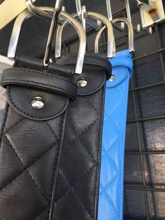 """The Tailored Sportsman """"Quilted"""" Belt is designed to complement Tailored Sportsman breeches. All-over quilt pattern with a simple silver buckle. Fits perfectly in the Trophy Hunter belt loops. Order b"""