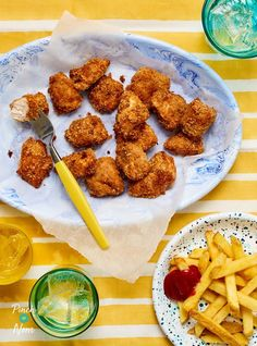 These fuss free crispy chicken nuggets are flavoured with smoky BBQ sauce for a delicious, slimming friendly family dinner.