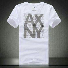 Funny Tee Shirts, Boys T Shirts, Camiseta Armani Exchange, Minimal Fashion, Emporio Armani, Shirt Designs, Menswear, Mens Fashion, Men Clothes