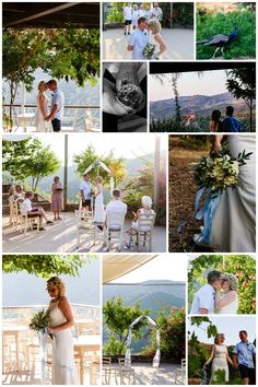 Romantic, intimate wedding at the Botanical Park & Gardens in Crete Crete, Real Weddings, One Shoulder Wedding Dress, Wedding Planner, Gardens, Romantic, Table Decorations, Park, Wedding Dresses