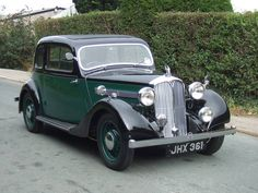Rover 10 Coupe (1938) Retro Cars, Vintage Cars, Antique Cars, Car Rover, Auto Rover, British Sports Cars, Cars Uk, Commercial Vehicle, Car Wheels