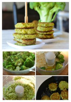 Broccoli bites- great way to get your kids to taste and experience broccoli. Healthy Side Dishes, Healthy Eating Recipes, Healthy Cooking, Baby Food Recipes, Healthy Snacks, Cooking Recipes, Healthy Kids, Cheesy Broccoli Bites Recipe, Good Food