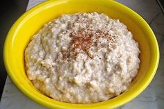 Haferbrei Grundrezept von Anne269   Chefkoch Oatmeal, Food And Drink, Low Carb, Sugar, Breakfast, New Food, Eat Clean Breakfast, The Oatmeal, Morning Coffee
