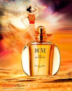 Christian Dior Dune Ein geheimnisvoller und langanhaltender Damenduft, der Sie mit einer magischen Aura umhüllt.