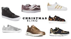Ready for Chirstmas? Set a highlight with a great pair of sneakers! Gold, glitter or shiny metal - everything is possible this Christmas ~