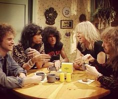 Breakfast with Aerosmith... yes please