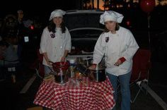 Football+Trunk+or+Treat+Ideas | Chef Theme & other ideas