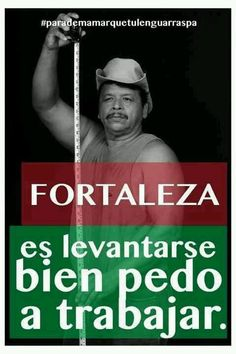 fortaleza es levantarse bien pedo a trabajar Funny Picture Quotes, Funny Pictures, Funny Quotes, Funny Memes, Jokes, Hilarious, Spanish Humor, Spanish Quotes, Mexican Words