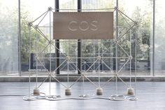 ATOM / COS pop-up store by Bonsoir Paris , via Behance