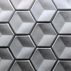 The Design Walker 3d Texture, Texture Design, Tiles Texture, Concrete Design, Tile Design, Concrete Tiles, 3d Pattern, Pattern Design, Wall Patterns