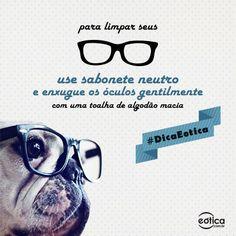 Como limpar  os óculos #howto #limpeza #oculos #dica