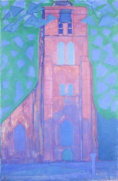 Zeeuwsche kerktoren, Mondriaan, 1911.jpg