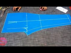 In this video I will show you how to make Women Palazzo Pant cutting Chudidhar Neck Designs, Kids Blouse Designs, Kurta Designs Women, Blouse Neck Designs, Salwar Suit Neck Designs, Salwar Designs, Skirt Patterns Sewing, Pattern Sewing, Plazzo Pants
