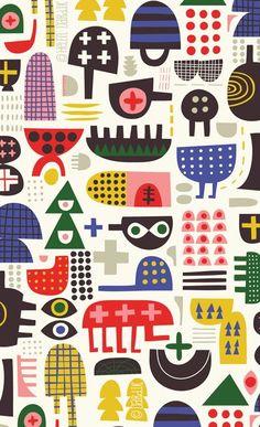 Left of Center - Helen Dardik Textile Patterns, Print Patterns, Design Patterns, Pattern Illustration, Magazine Illustration, Book Illustration, Illustrator, Unique Toys, Helen Dardik
