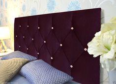 Stylish SCARLET Tufted Crystal Diamante Headboard Bed Home Room Headboards New