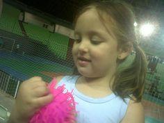 Fernanda no ginásio Chico Neto, em Maringá (2011)